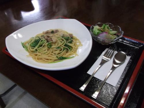 パンチェッタと水菜のペペロンチーノ.jpg